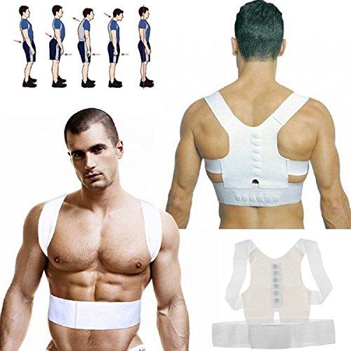 Slimerence Posture Corrector, Posture Shoulder Support Brace Belt Corrector Straighten Back Improve Posture Relieve Back Shoulder Neck Pain Men & Women