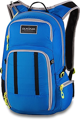 DAKINE Multifunktionsrucksack Amp without Reservoir - Mochila, color negro, talla 48 x 27 x 20 cm, 18 l Azul