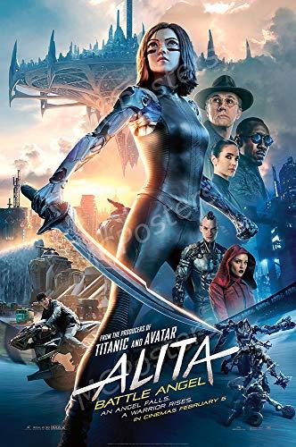 MCPosters - Alita Battle Angel Glossy Finish Movie Poster - MCP510 (16