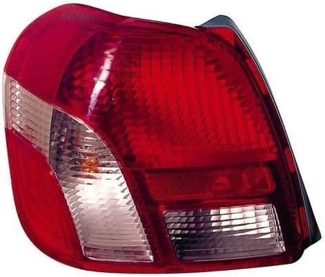 Go-Parts Side - 4 Door; Sedan + 2 Door; Sedan Left 81560-52080 TO2800135 Replacement 2001 for 2000-2002 Toyota Echo Rear Tail Light Lamp Assembly // Lens // Cover Driver