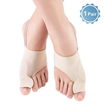 Bunion Corrector Toe Straightener, Orthopedic Bunion Splint Protectors for Day and Night Time, Toe