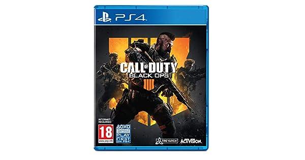COD Black Ops 4 PS-4 UK Call of Duty [Importación inglesa]: Amazon ...