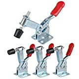 5 pack Hold Down Toggle Clamps Latch Antislip Red