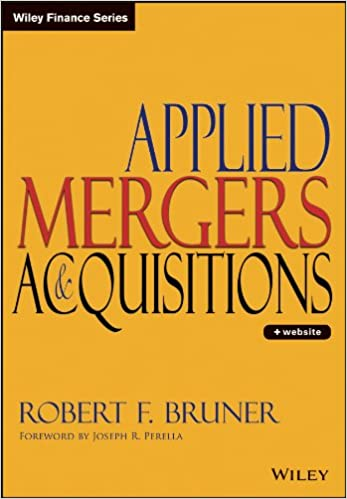 Applied mergers and acquisitions robert f bruner joseph r applied mergers and acquisitions 1st edition fandeluxe Gallery