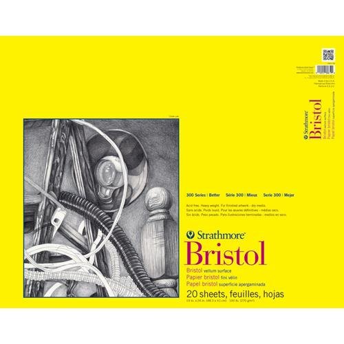strathmore-bristol-vellum-paper-pad-19x24-20-sheets