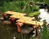 Van Gogh's 3-Step Red Cedar Zig-Zag Bridge