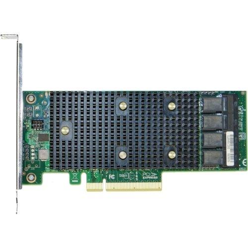 Intel Tri-Mode PCIe/SAS/SATA Storage Controller Adapter, 16 Internal Ports by Intel