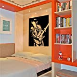 "Stevie Ray Vaughan wall decal sticker home décor 23"" x 30"""