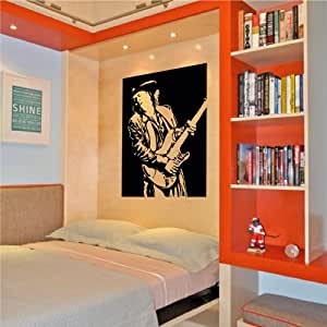 amazon   stevie ray vaughan wall decal sticker home