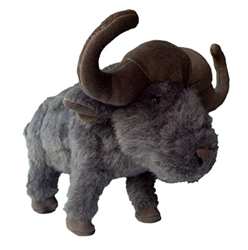 "ADORE 14"" Standing Kruger the Cape Buffalo Stuffed Animal Plush Toy"