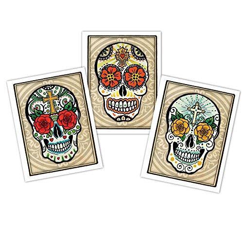 - Sugar Skull Blank Note Cards