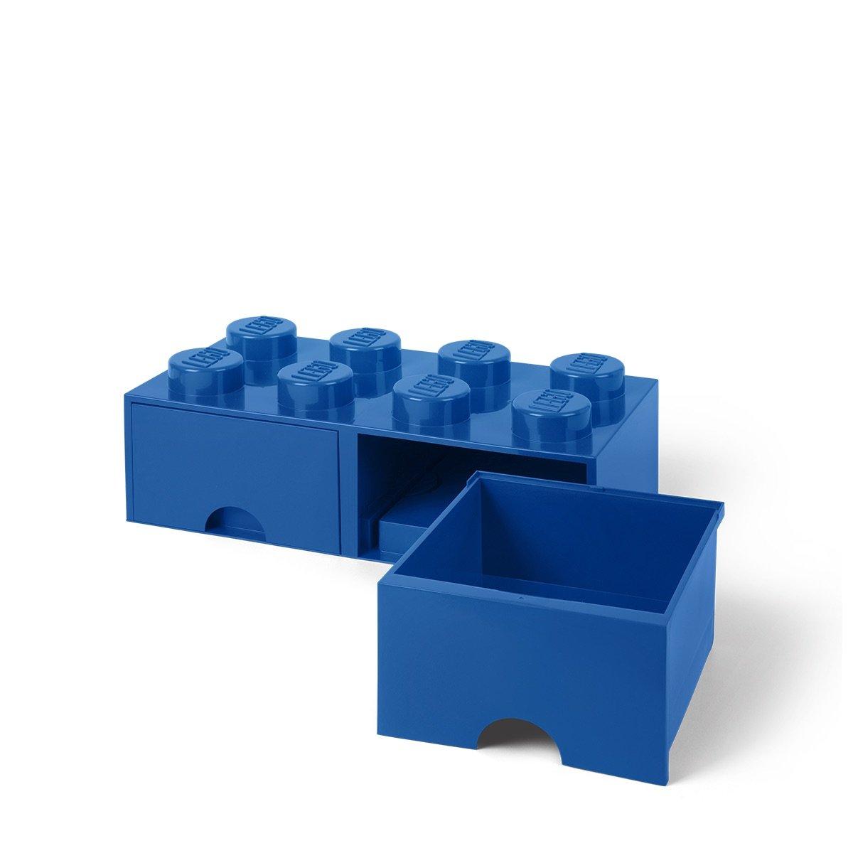Genial Amazon.com: LEGO Brick Drawer, 8 Knobs, 2 Drawers, Stackable Storage Box,  Bright Blue: Room Copenhagen: Home U0026 Kitchen