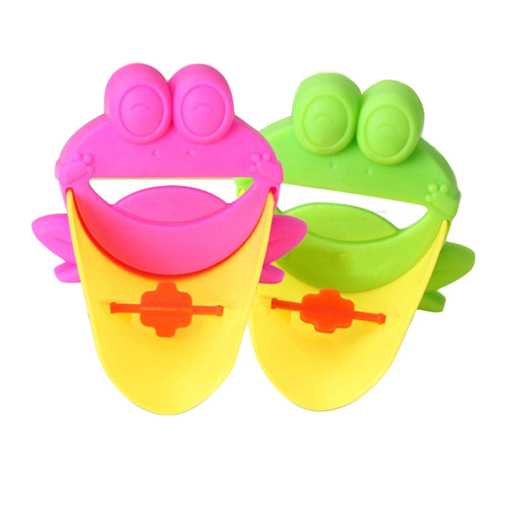 Child Guide Sink, the Frog hand sanitizer Help the Baby Enjoy Washing His Hands by Himself Tkattkom