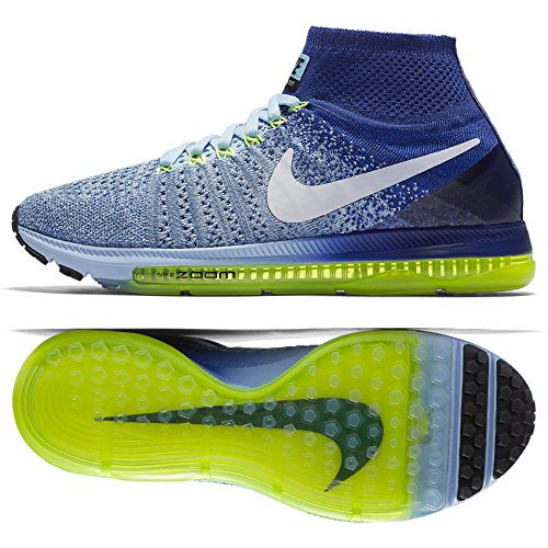 NIKE 845361-400, Zapatillas de Trail Running para Mujer Azul (Bluecap / White / Deep Royal Blue / Volt)
