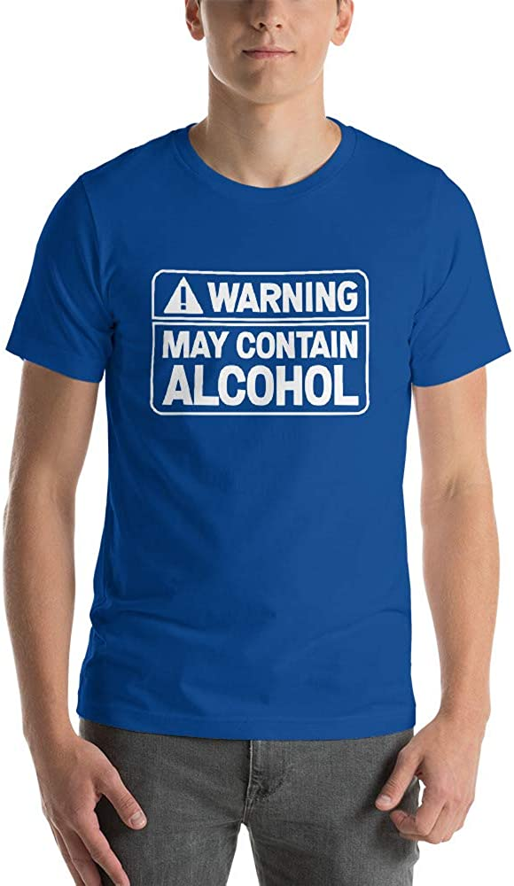 al Alcoholic Wedding Funny Bachelor, Quotablee Warning May Contain Alcohol Shirt Celebration