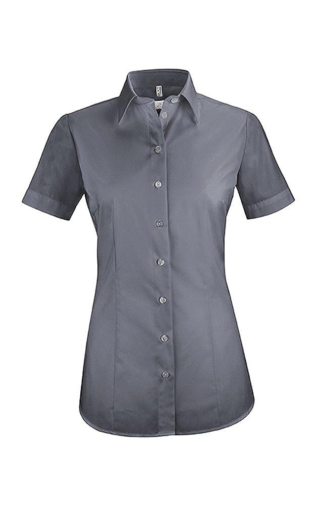 GREIFF Damen-Bluse Basic mehrere Farben Easy-Care Regular Fit Stretch 6516