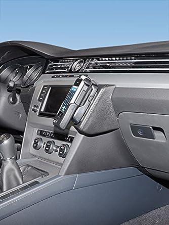KUDA 1665 Leather Mount Black Compatible with VW ARTEON Since 2018