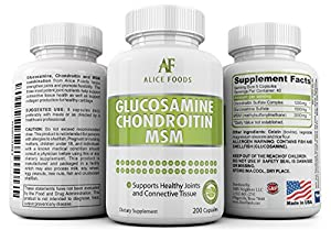 Glucosamine / Chondroitin / MSM Complex For Your Joints (40-days supply) by SMS Neighbors LLC