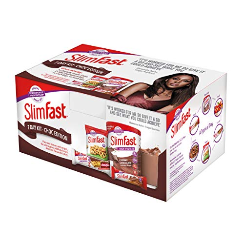 SlimFast 7 Day Kit Chocolate Edition Starter Pack