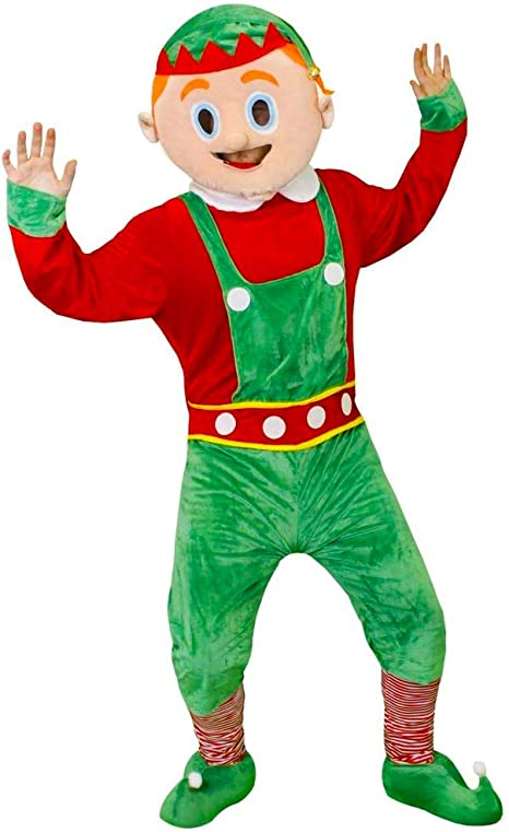 I LOVE FANCY DRESS LTD Disfraz DE Elfo Gigante para Adulto Disfraz ...