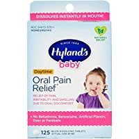 Hyland's Baby Oral Pain Relief Tablets with Chamomilla, Soothing Natural Relief...