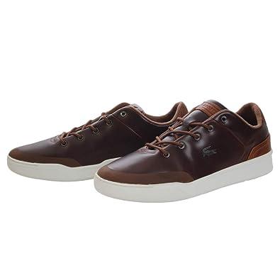 41b83f5bee8 Lacoste Baskets Explorateur Classic Marron  Amazon.fr  Chaussures et ...