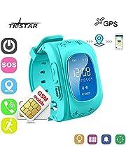 Reloj Inteligente Niños con GPS Smartwatch Niños Llamadas Reloj Deportivo Niño Pulsera de Actividad Inteligente Niños