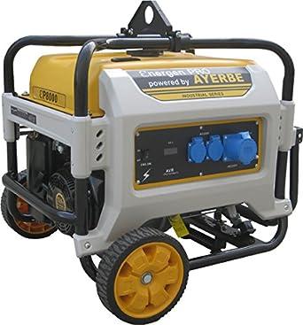 Ayerbe 5432020 - Generador energen pro 8000 grupo 3.600 rpm: Amazon.es: Amazon.es