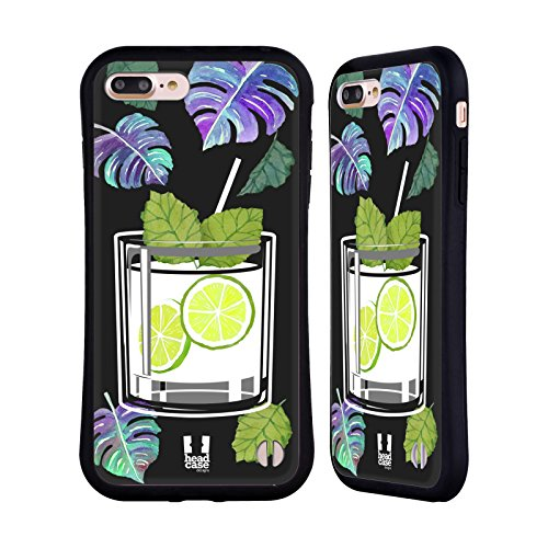 Head Case Designs Vodka Cocktails Hybrid Case for Apple iPhone 7 Plus / iPhone 8 Plus