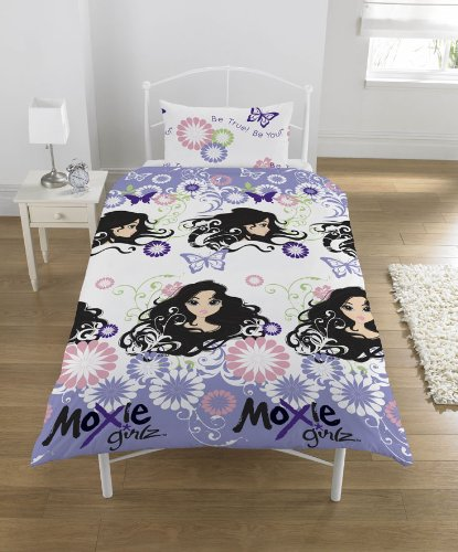 Moxie Girz Single Bed Duvet Cover Character-Place Range of Licensed Bedding Moxie Girls