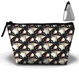 Penguin Animal Trapezoid Pouch Makeup Cosmetic Bag Tote Shopping Bag Anti-bacterial For Youth