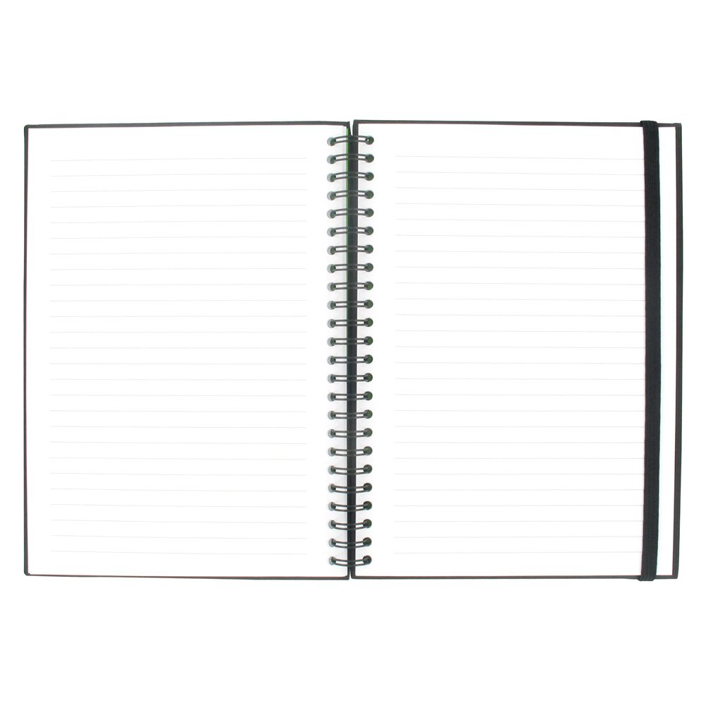 Paperchase Black A5 Notebook