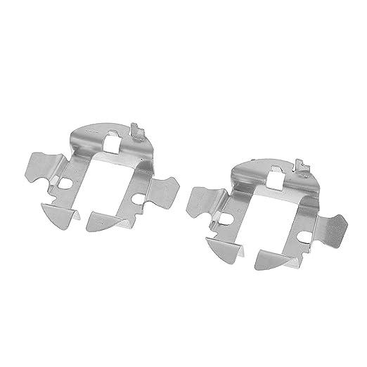 2 opinioni per 2X Auto Nascosto Lampadine H7 Adattatore Titolare Clip Di Base Fissaggio In