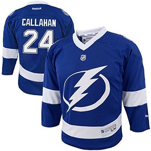 - Ryan Callahan #24 Tampa Bay Lightning Blue Youth Home Replica Jersey (Large/X-Large)