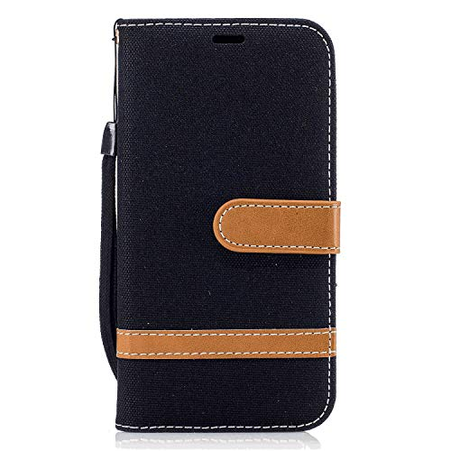 Samsung Galaxy A10 Flip Case, Cover for Samsung Galaxy A10 Leather Extra-Protective Business Kickstand Cell Phone case Card Holders with Free Waterproof-Bag Delicate