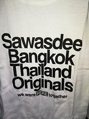 言うまでもなく現像日曜日Sawasdee Bangkok Thailand Originals Lady Vest Sleeveless Thai T-Shirt
