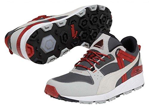 Puma - Zapatillas de running de material sintético para hombre negro negro