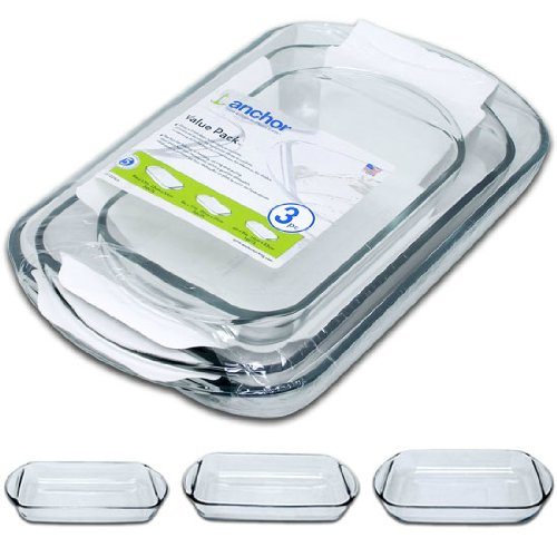glass baking dishes - 6