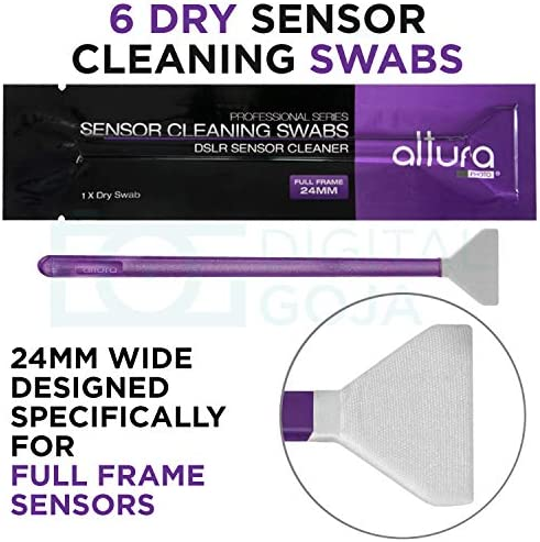Altura Photo Professional Cleaning Kit Full Frame DSLR Cameras Sensor Cleaning Swabs with Carry Case 51dKwWV0IHL