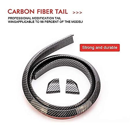 150carbonfiber 1.5M Auto-Styling 5D Spoiler in fibra di carbonio Styling FAI DA TE Refit Spoiler per Audi BMW Toyota Honda KIA Hyundai Opel Mazda Ford Skoda,3.5