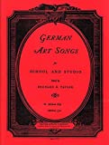 German Art Songs, Medium High 9781598060737