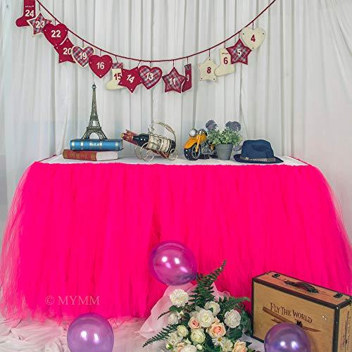 Tulle Table Skirt Wedding