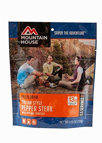 (Mountain House Italian Style Pepper Steak 3-Pack )