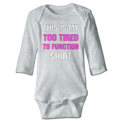 Messed Up Baby Costumes (Fashion Baby Boys & Girls This Is My Too Tired To Function Shirt Long-sleeve Jumpers)