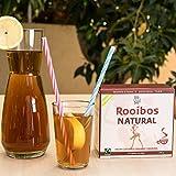 ROOIBOS TEA BAGS, Caffeine Free - 80 USDA Organic, Fairtrade, South African Red Bush 100% Natural, Calorie Free, Gluten Free, Non-GMO, Anti-Oxidant Rich, Detox, Pure Healthy, Herbal Drink