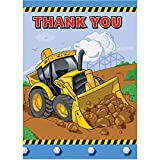 Construction Thank You Note Cards, 12ct