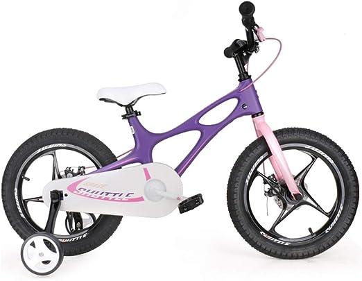Bicicletas niños Carro de niño y niña de 14 Pulgadas 4-12 años de ...