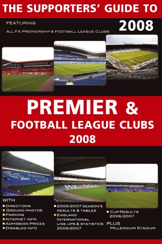 Download The Supporters' Guide to Premier and Football League Clubs 2008 (Supporters' Guides) ebook