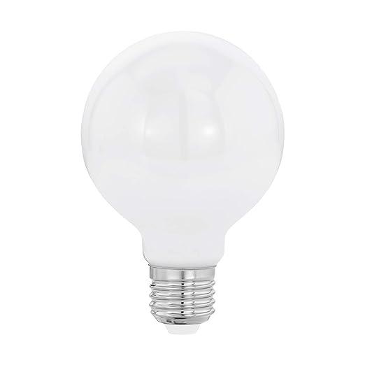Led Lampe E27 Filament Opal Globe G80 8w 2700k 806lm 1 Stk Amazon