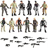 military action figures - 12 Piece Set Special Forces With Weapons 6